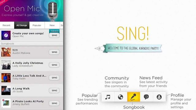 Free Download Sing! Karaoke by Smule for PC, Desktop and