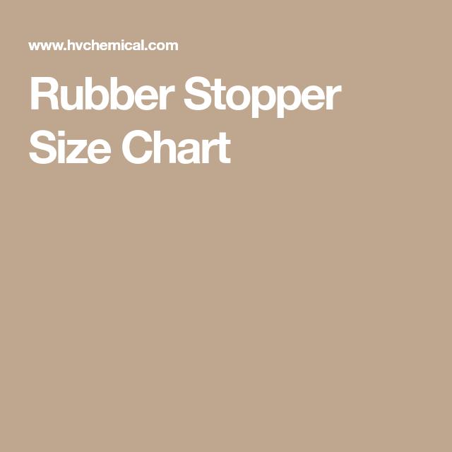 Rubber Stopper Size Chart Conure Parrot Bird Parrots