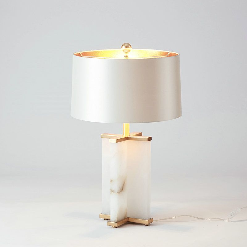 Contemporary Simple Table Lamp Unique Fixture Fabric Shade Study Desk Lamp Table Lamp Lamp Modern Lamp