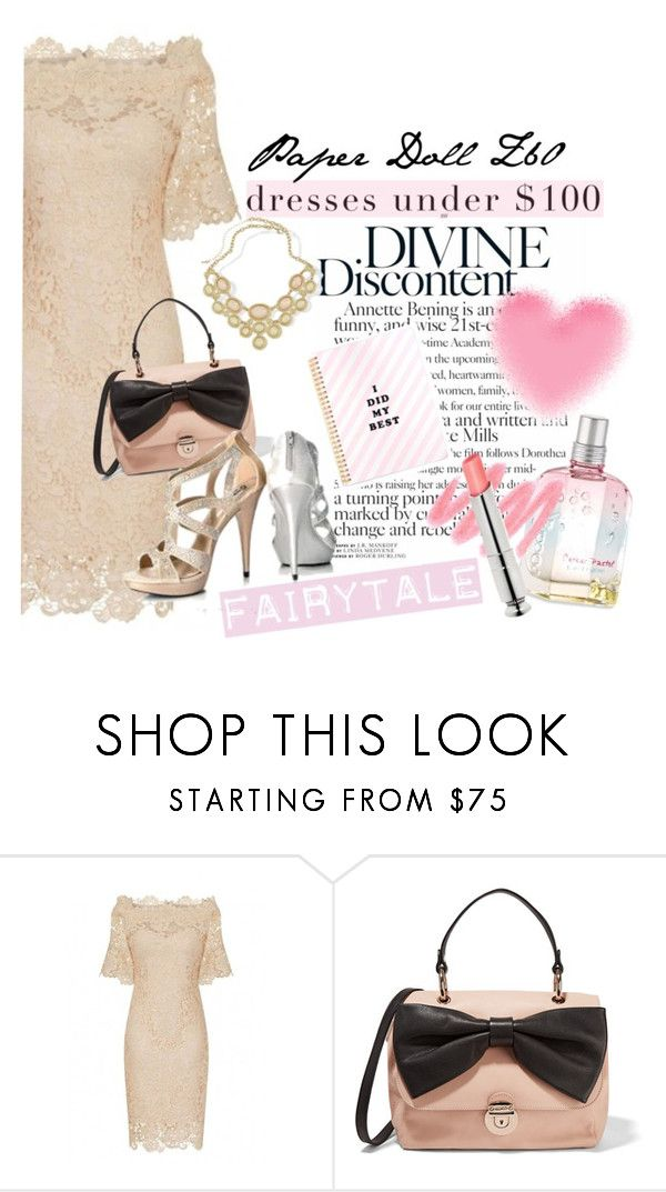 """""""Divine Dress Under $100"""" by clotheshawg ❤ liked on Polyvore featuring RED Valentino"""
