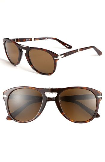 32a998e12d2 Persol Folding Polarized 54mm Keyhole Sunglasses available at  Nordstrom