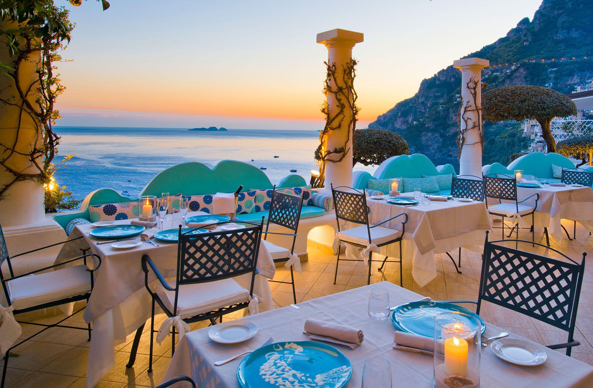 Positano Terrazza Cele Restaurant Terrazza Hotel
