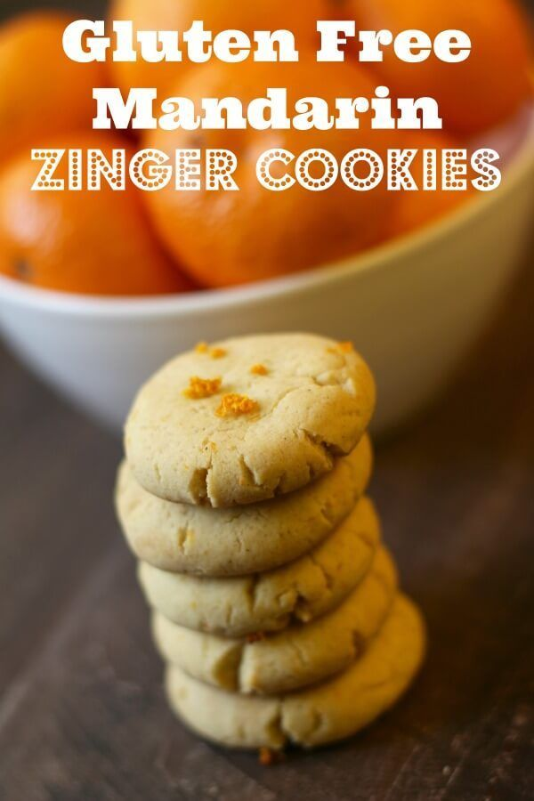 Mandarin Zingers Gluten Free Cookies - These are AMAZING!