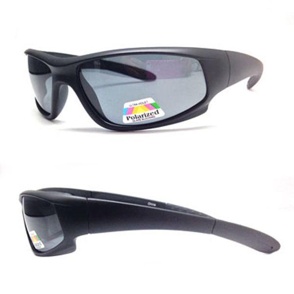 Polarized Sunglasses Goggles Men Sun Glasses 100/% UV Zipper Case Included Sports
