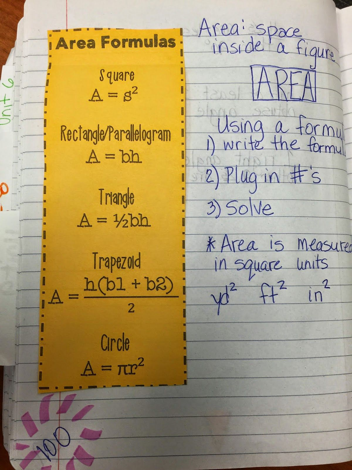 Hodges Herald: examples of ton of pages from a sixth grade math ...