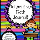 This interactive Math Journal includes 80 pages of wonderful math printables, foldables, posters, anchor charts, and activities to do with your stu...