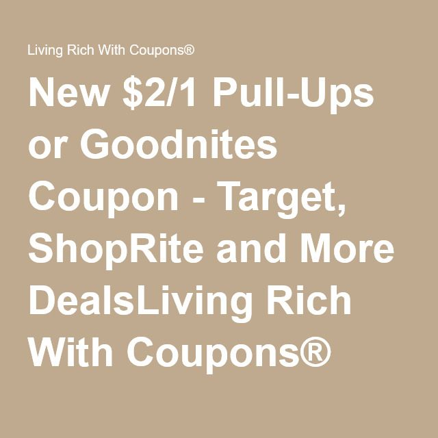 picture about Pull Ups Printable Coupons known as Fresh $2/1 Pull-Ups or Goodnites Coupon - Concentrate, ShopRite and