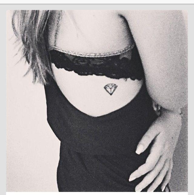 Little diamond tatoo