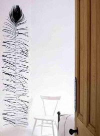 Panneau de papier plume de Paon par Tracy Kendall