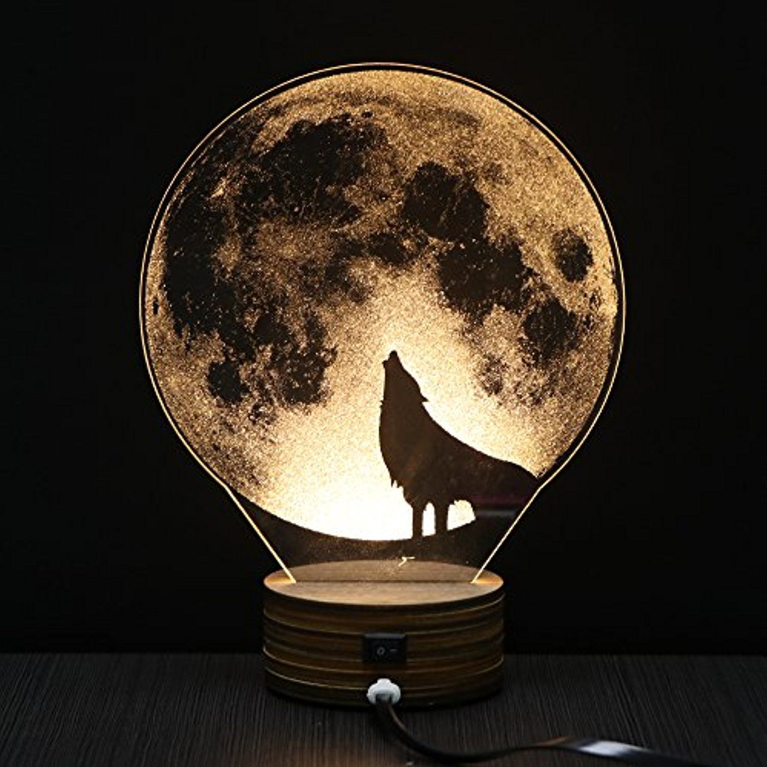 Led Table Lamp Eco Home 3d Illusion Night Light Desk Lamp Usb 3d Illusion Lamp Acrylic Creative Gift Toys Decorati 3d Illusion Lamp Led Table Lamp Night Light