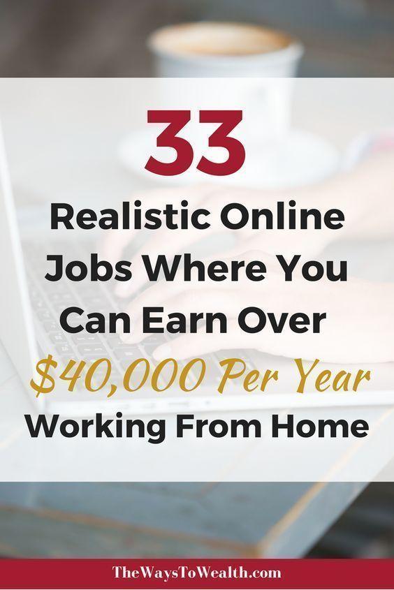 33 Legit Online Jobs Where You Can Earn $50,000+ F...