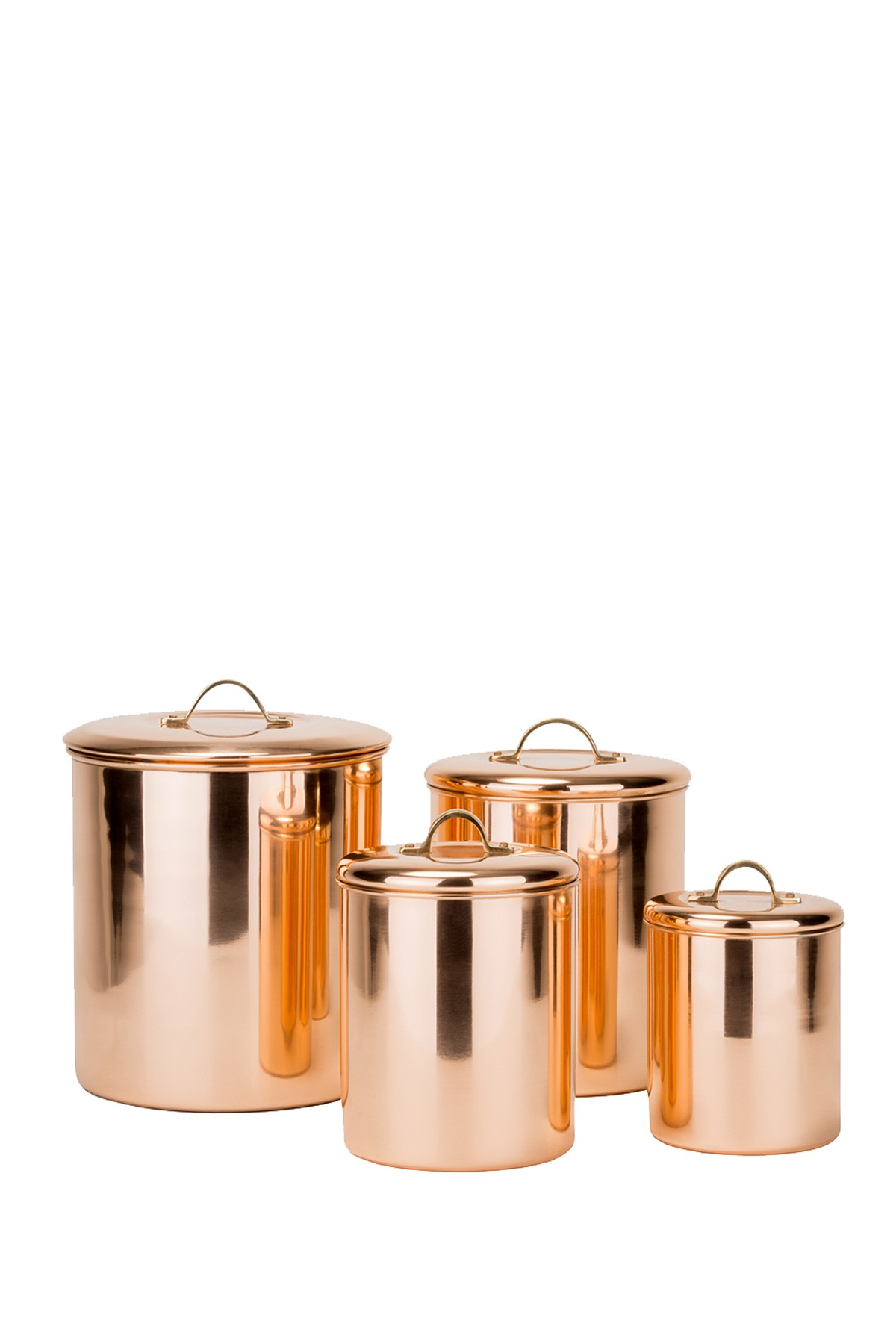 Odi Housewares Copper Canister 4 Piece Set
