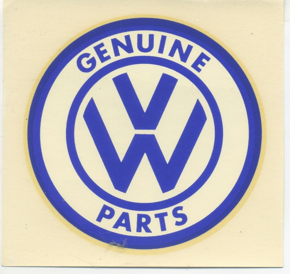 Details About Vtg Ford Water Decal Genuine Parts 4 5 Quot X 3