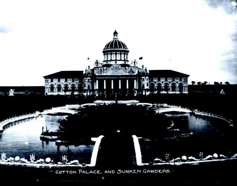 The Cotton Palace and Sunken Gardens, Charleston SC