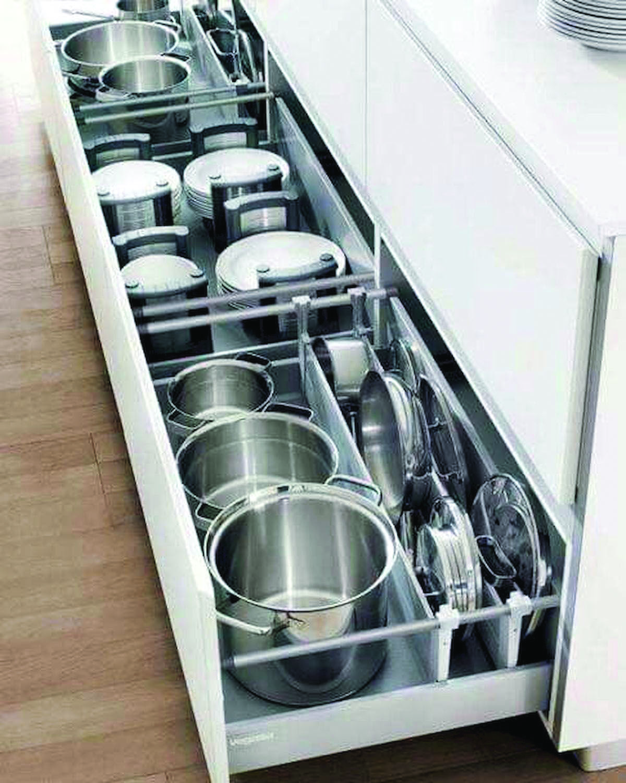 The Most Por Kitchen Storage Ideas On Houzz Diy