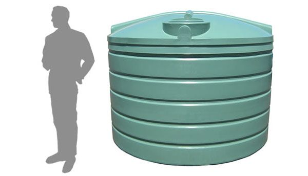 R5000 Litre Squat Rainwater Tank Water Tank Rain Water Tank Water Storage Tanks