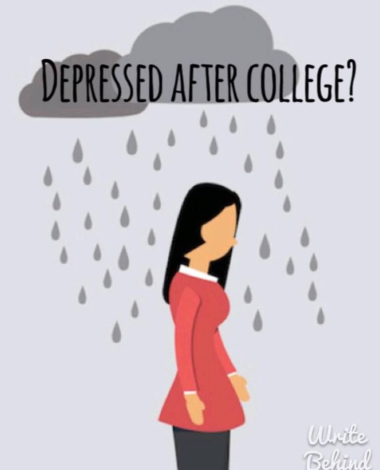 Post-college depression is a real thing that not many people talk about. Utilize our website to help you move forward during this difficult time.