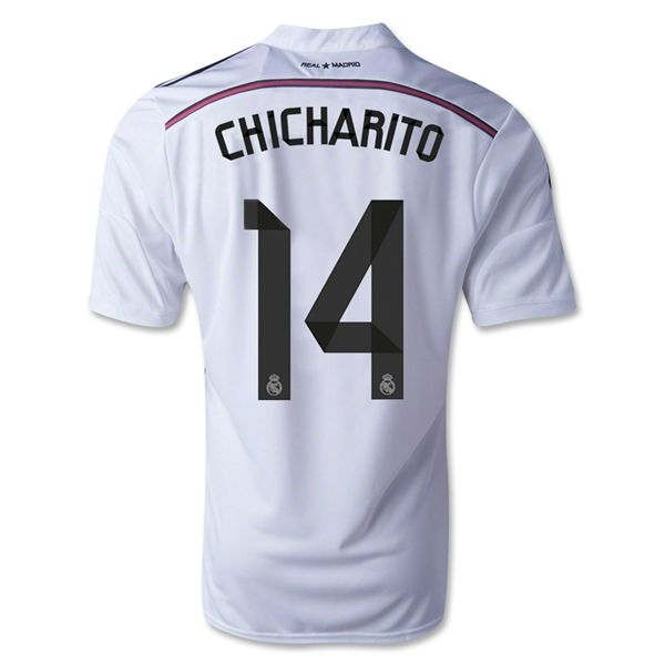 huge selection of 41bbe 9dd27 Chicharito #14 Real Madrid 15/16 Home Jersey | Real Madrid ...