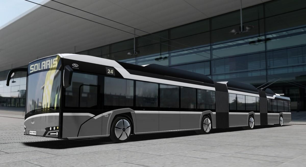 The Polish Manufacturer Solaris Bus Coach S A And Its Designers In January 2017 Presented The Project Of A Three Sectional Machine Wit Solaris Bus Coach Bus