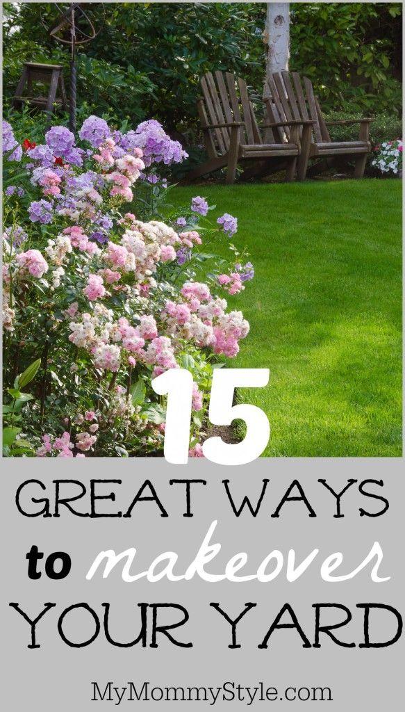 15 Great Ways To Makeover Your Yard Outdoor Gardens Lawn Garden Garden
