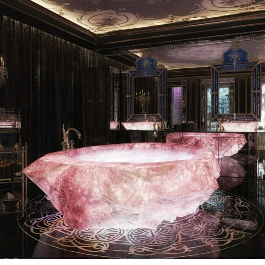 Rose Quartz Tub Or Weeping Willow Bath Swipe For I Can T Decide Maybe The In E Lil