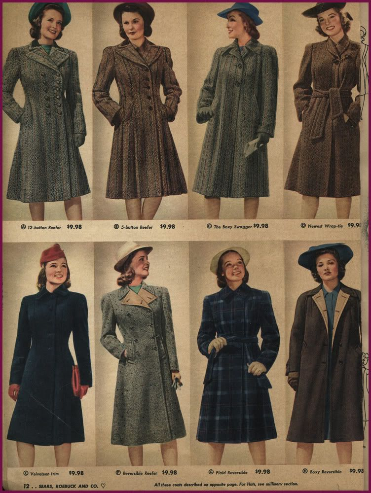 1940s wardrobe essentials  Page 11 is part of 1940s fashion -