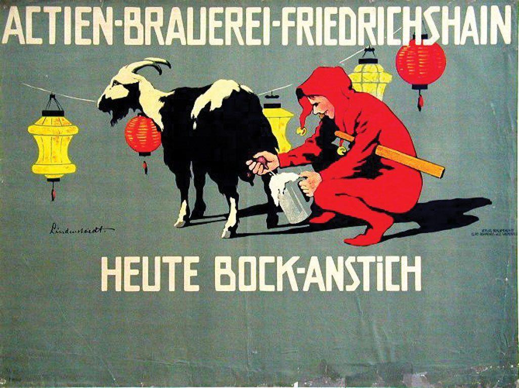 ACTIEN-BRAUEREI-FRIEDRICHSHAIN * Hans Lindenstaedt 1906
