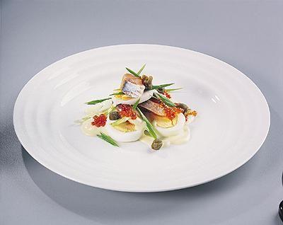 Салат из норвежской сельди в блинчике