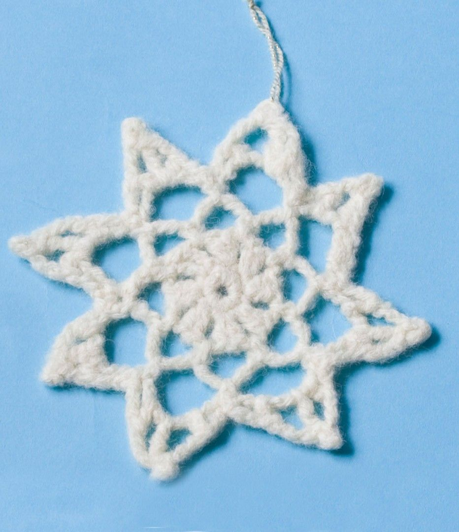Felted Holiday Snowflake Pattern (Crochet) | Felted Crochet Patterns ...