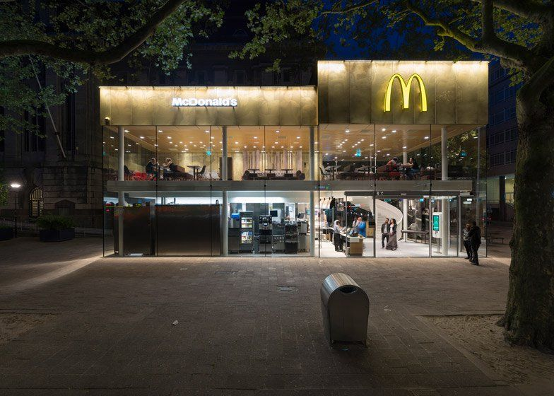 Gallery Of McDonalds Pavilion On Coolsingel Mei Architects And - Camouflaged into its surroundings mcdonalds restaurant by mei architects