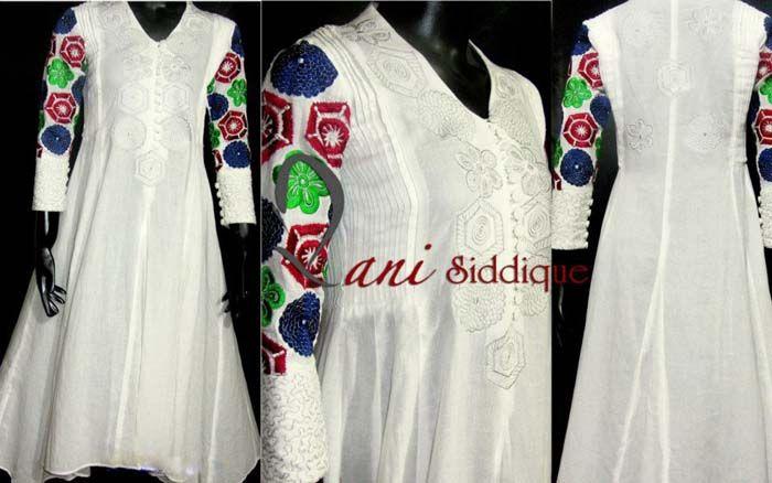 Latest Fashion Pakistani Dresses 2012 by Needlez by Shalimar g