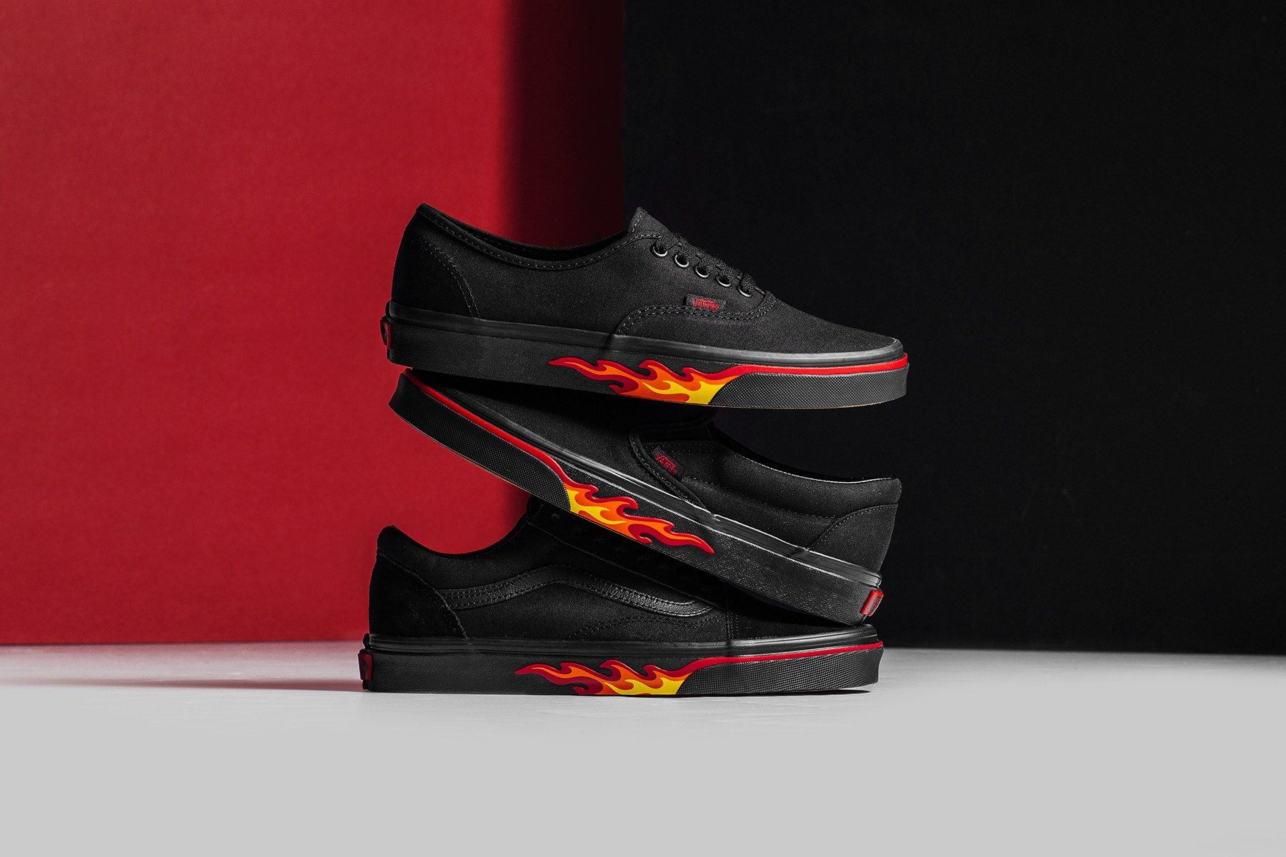Vans 'Flame Wall' Pack EU Kicks: Sneaker Magazine   Old