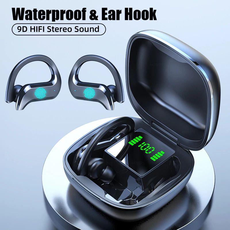 Wireless Bluetooth Running Sports Waterproof Wireless Headphone Touch Control Ebay In 2020 Wireless Headphones Bluetooth Earphones Bluetooth Headphones Wireless