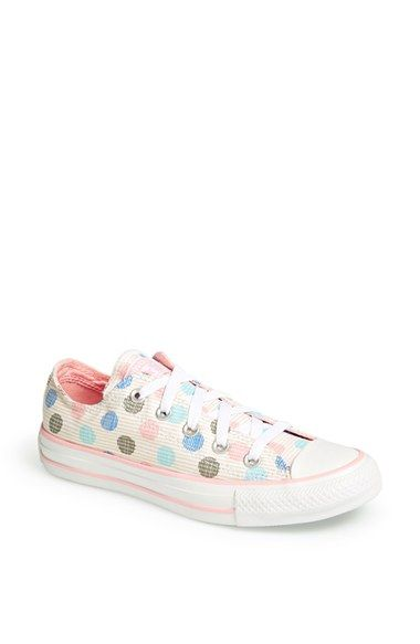 newest bbe36 1371e Converse Chuck Taylor® All Star®  Polka Dot Ox  Sneaker (Women) available  at  Nordstrom
