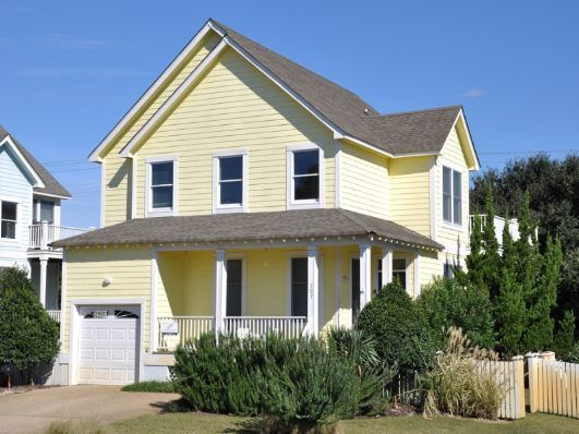 Outer Banks Rental: Seaside Cottage, property ID HK09. Four bedrooms ...