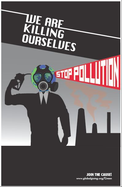 008 stop pollution art Google Search Air pollution poster