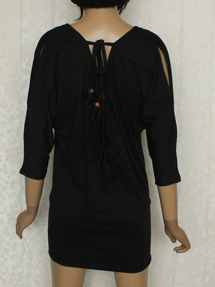 Casual Round Neck Half Sleeve Cotton  Bodycon-dress Bodycon Dress from fashionmia.com
