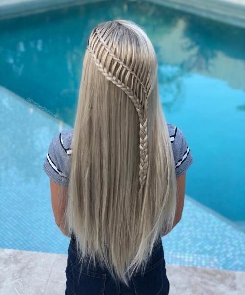 20 peinados de fiesta para cabello largo – Hochsteckfrisuren.club, #Frisuren # für #haar #Uochsteckf – Peinados facile