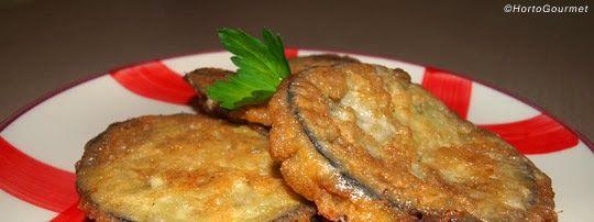 Receta Rodajas de berenjena rellenas de jamón york y queso HortoGourmet