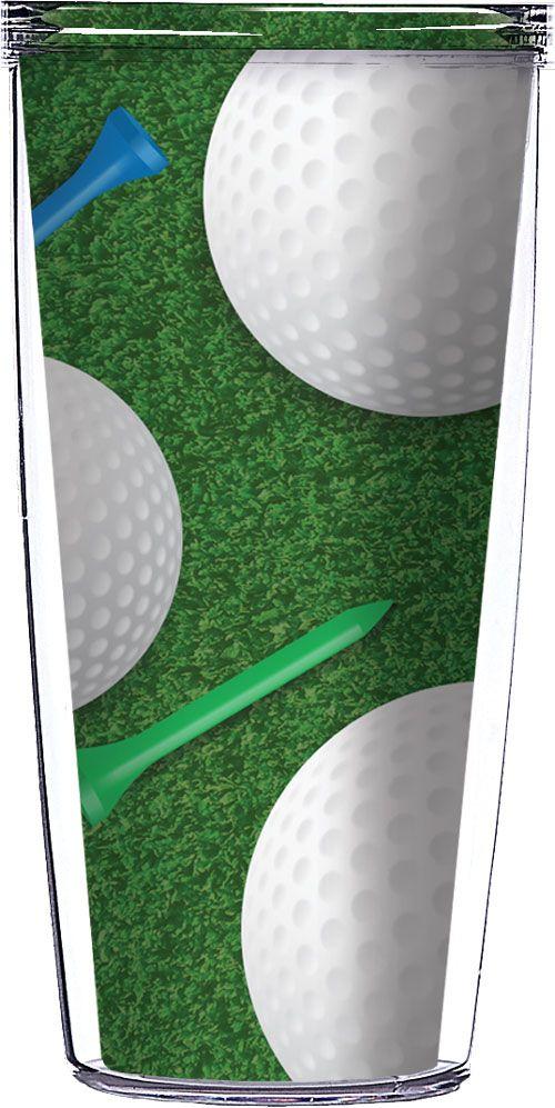 Golf Ball Tumbler Glasses Greatgolfmemories Com Personalized Golf Gifts Golf Gifts Personalized Golf
