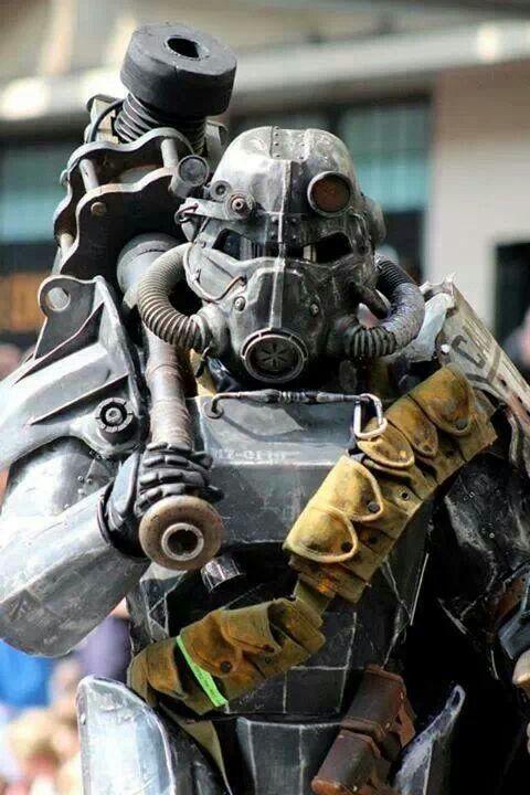 brotherhood of steel cosplay