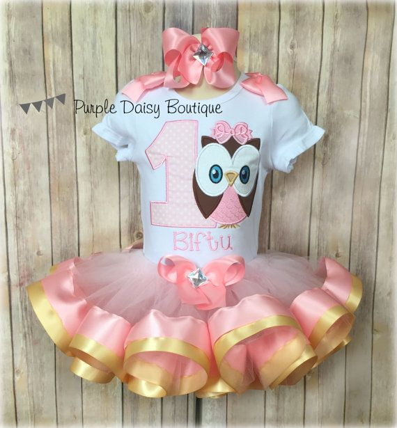 Colors can be changed Owl Birthday Shirt FOR ALL AGES Pink Full outfit available teal and sparkle gold