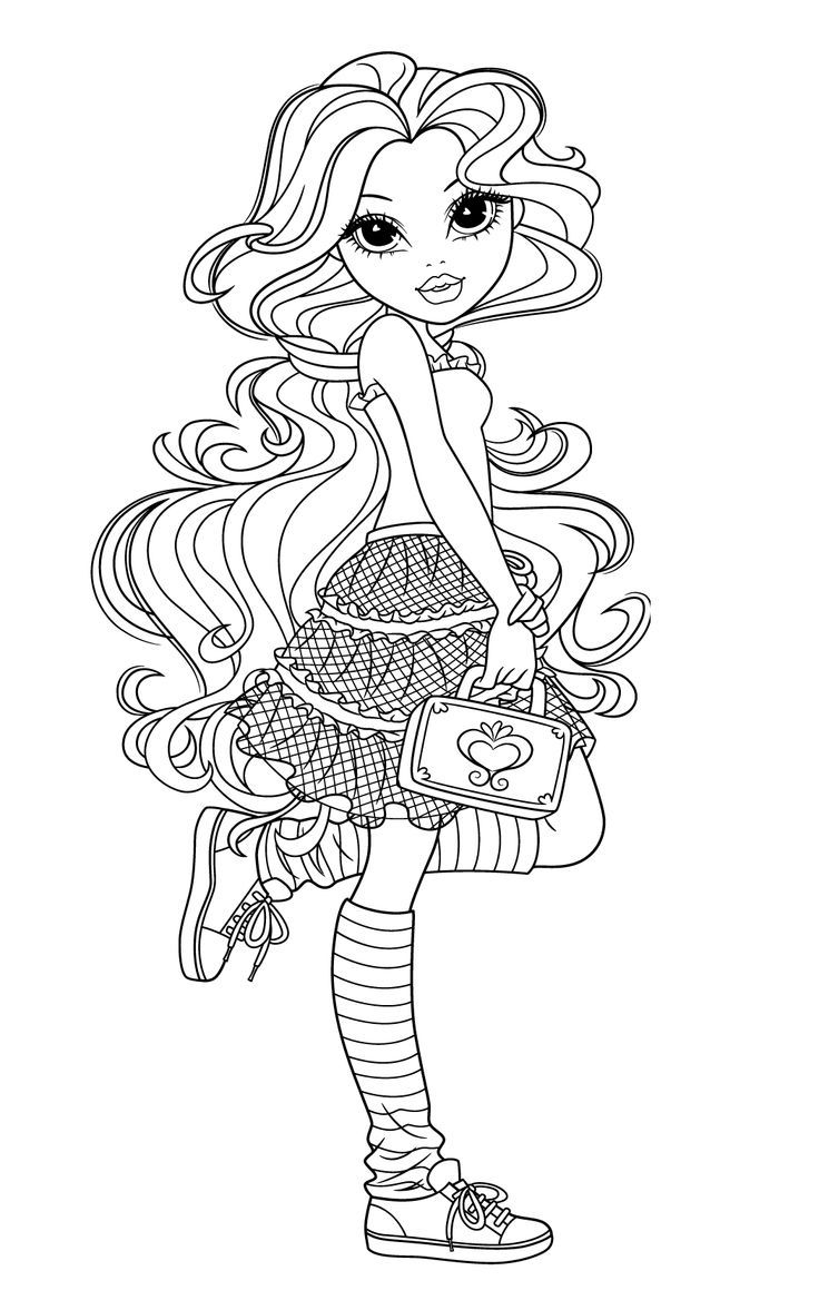 Moxie Girlz Coloring Pages3 Card Ideas Coloring Pages