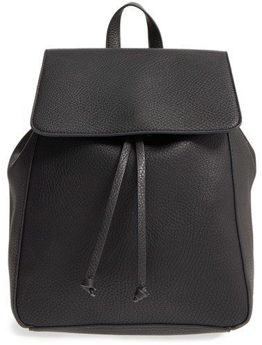 8f0cad1fe3aa Sole Society  Iver  Faux Leather Drawstring Backpack on Shopstyle. Stylish  Backpacks