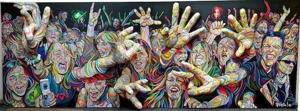 3D-Paintings Attack von Shaka > Design und so, Illustrationen, Paintings, Streetstyle, urban art > 3D, malereien, murals, paintings, shaka, threedimensional