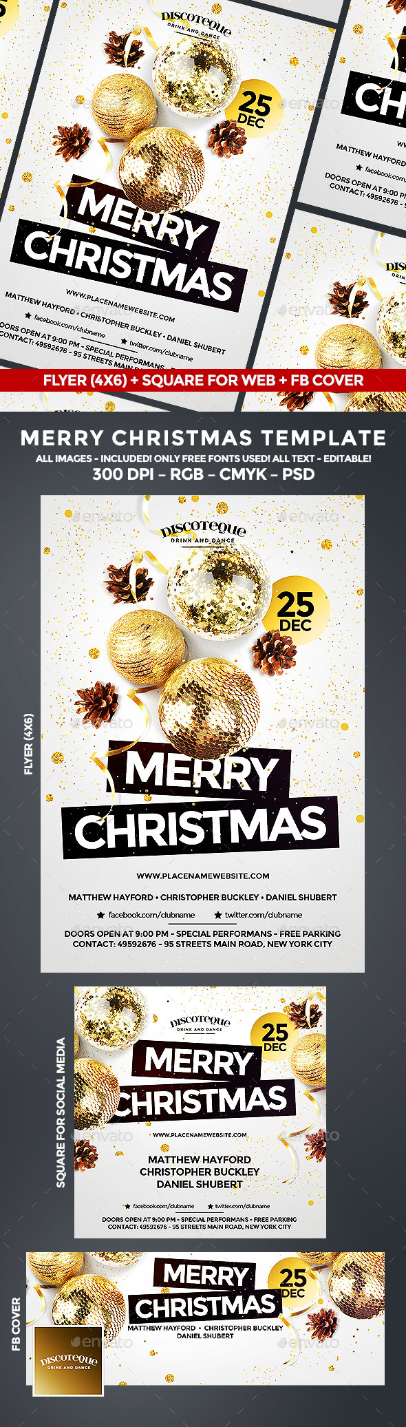 Christmas Christmas Flyer Flyer Template And Event Flyers