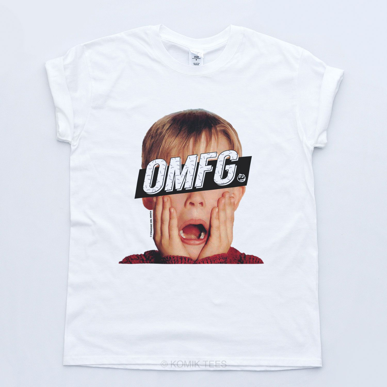 Omfg Home Alone Christmas Retro T Shirt Indie Geek Disobey Tumblr ...