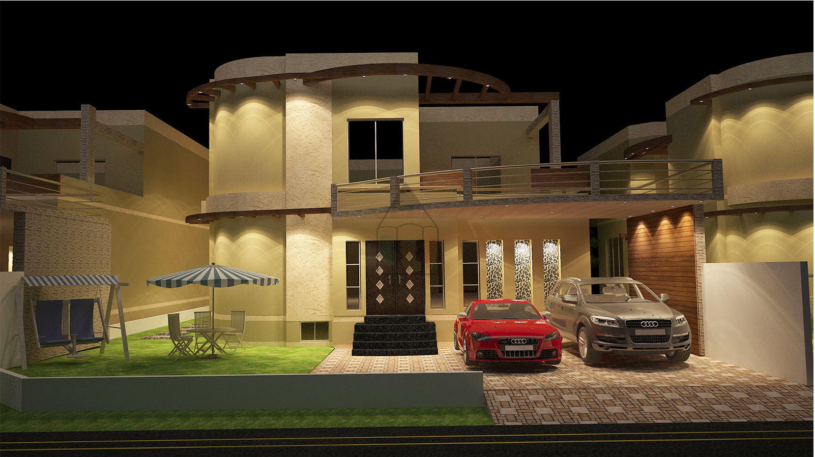 Front Design Of Punjabi House Part - 26: Explore In The Basement, Small House Design, And More!