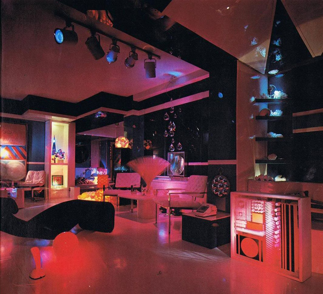 Magical Mystery Décor Trippy Home Interiors of the 60s