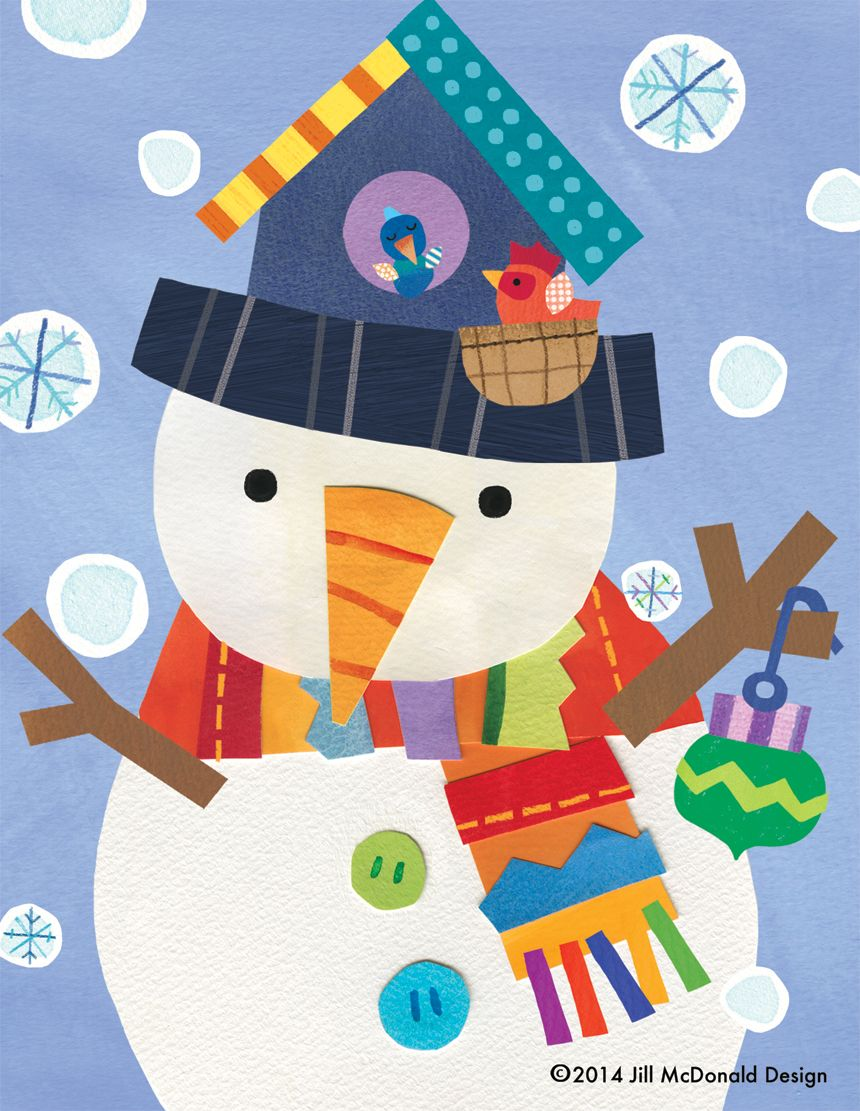 The Helpful Snowman by Jill McDonald